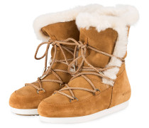 Moon Boots FAR SIDE HIGH SHEARLING - CAMEL