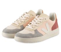 Sneaker V-10 - beere/ grau/ beige/ rosa