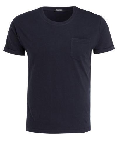 T-Shirt KIET mit Leinenanteil