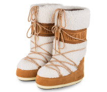 Moon Boots WOOL - SAND/ OFF-WHITE