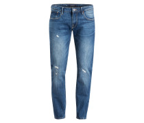 Destroyed-Jeans Tapered Fit