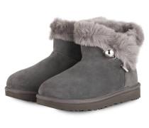 Boots CLASSIC FLUFF PIN - GRAU