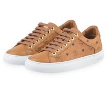 Sneaker LOGO GROUP - COGNAC
