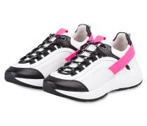 Sneaker HIT - WEISS/ NEONPINK/ SCHWARZ