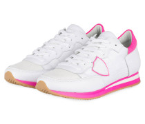 Sneaker TROPEZ - WEISS/ NEONPINK