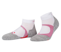 Running-Socken CUSHION - grau meliert
