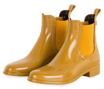 Gummi-Boots COMFY - DUNKELGELB