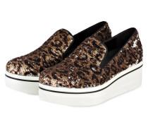 Loafer BINX - SILBER/ GOLD/ BRAUN