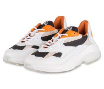 Sneaker SWIPE RUNNER - WEISS/ ORANGE