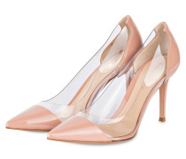 Pumps PLEXI 85 - NUDE