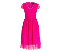Spitzenkleid FIVI3 - pink