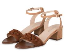 Sandaletten CARYL - BRAUN/ BEIGE