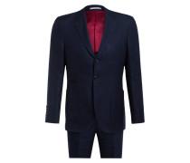 Anzug Extra Slim Fit mit Leinen