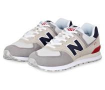 Sneaker ML574 - GRAU/ BEIGE/ ROT