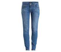 Skinny-Jeans HAZEL - light blue denim