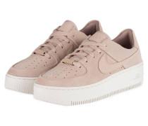 Sneaker AIR FORCE 1 SAGE - NUDE