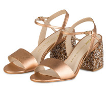 Sandalen - roségold metallic