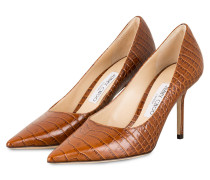 Pumps LOVE - COGNAC