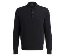 Cashmere-Pullover mit Polokragen