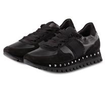 Plateau-Sneaker FLOW - SCHWARZ