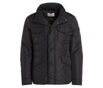 Daunen-Fieldjacket - schwarz