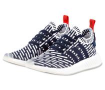 Sneaker NMD_R2 PRIMEKNIT - navy/ weiss