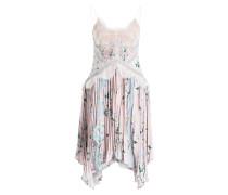 Kleid - rosé/ grün/ hellblau