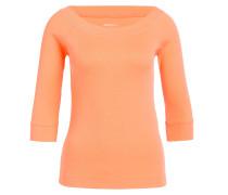 Shirt mit 3/4-Arm - orange