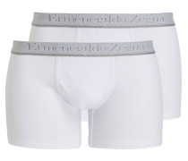 2er-Pack Boxershorts - weiss