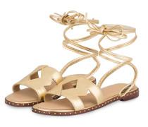 Sandalen FIO - gold metallic