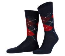 Socken PRESTON - 6155 stahl