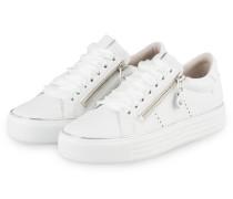 Plateau-Sneaker UP - WEISS