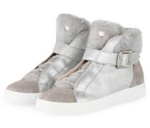 Hightop-Sneaker - SILBER/ GRAU