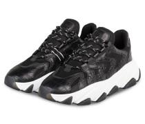 Plateau-Sneaker EXTREME - SCHWARZ/ WEISS