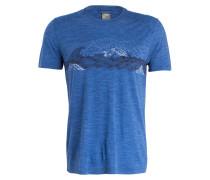 T-Shirt SPHERE CREWE mit Merinowolle-Anteil