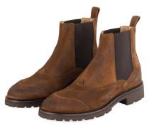 Chelsea-Boots LADBROKE - BRAUN