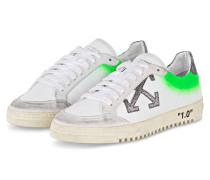 Sneaker ARROW 2.0 - WEISS/ NEONGRÜN