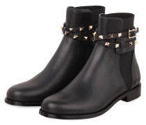 Boots ROCKSTUD - SCHWARZ