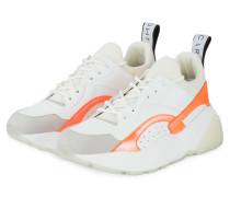 Plateau-Sneaker ECLYPSE - WEISS
