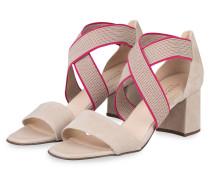 Sandaletten PAIGE - BEIGE/ PINK