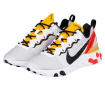 Sneaker REACT 55 - WEISS/ GELB/ ROT