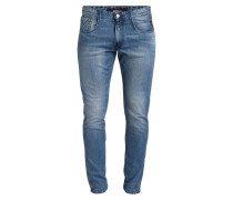Jeans ANBASS Slim-Fit - 009 light blue