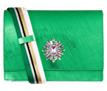 Umhängetasche - grün metallic