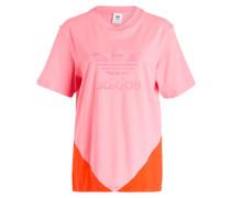 T-Shirt - rosa/ orangerot