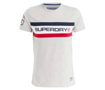 T-Shirt TROPHY - grau meliert