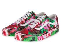 Sneaker OLD SKOOL - ROSA/ GRÜN/ ROT