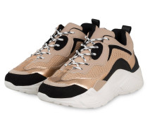 Plateau-Sneaker ANTONIA - NUDE/ SCHWARZ
