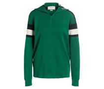 Pullover mit Seiden- und Cashmere-Anteil