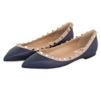 Ballerinas ROCKSTUD - DEEP BLUE/ POUDRE