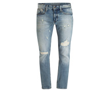 Destroyed-Jeans RAZOR Slim-Fit